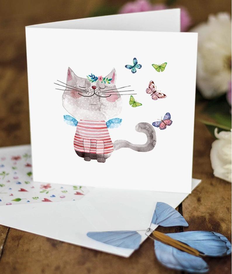Surprise card (紙のサプライズカード)