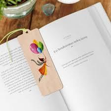 Bookmark(wooden)(木製ブックマーク(しおり))